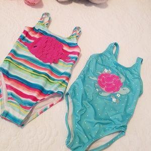 One pice cute and fun bikinis